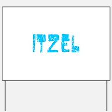 Itzel Faded (Blue) Yard Sign