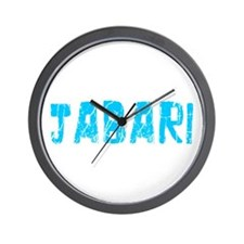 Jabari Faded (Blue) Wall Clock