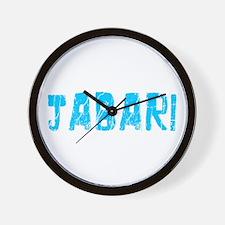 Jabari Faded (Blue) Wall Clock