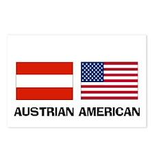 Austrian American Postcards (Package of 8)