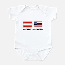 Austrian American Infant Bodysuit