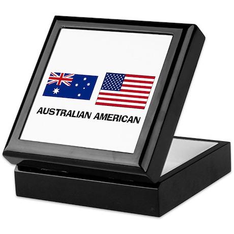 Australian American Keepsake Box