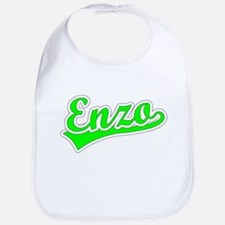 Retro Enzo (Green) Bib