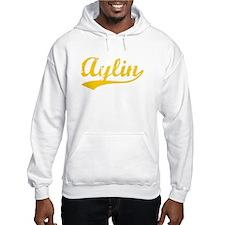 Vintage Aylin (Orange) Hoodie Sweatshirt