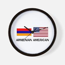 Armenian American Wall Clock