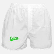 Retro Erica (Green) Boxer Shorts