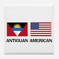 Antiguan American Tile Coaster
