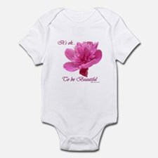 Beautiful Weight Loss Flower Infant Bodysuit