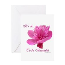 Beautiful Weight Loss Flower Greeting Card