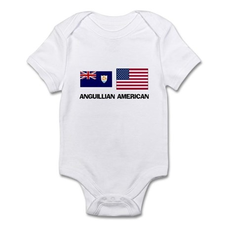 Anguillian American Infant Bodysuit