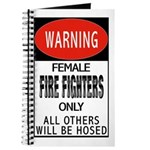 Female Fire Fighter Journal
