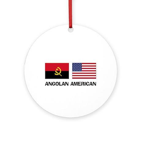 Angolan American Ornament (Round)