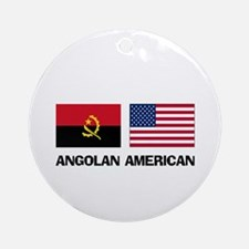 Angolan American Ornament (Round)