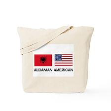 Albanian American Tote Bag