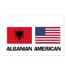 Albanian American Postcards (Package of 8)
