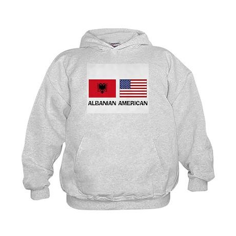 Albanian American Kids Hoodie