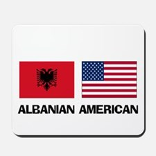 Albanian American Mousepad