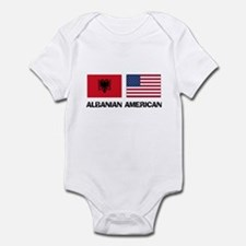 Albanian American Infant Bodysuit