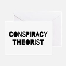 Conspiracy Greeting Card