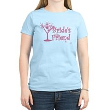 Pink C Martini Bride's Friend T-Shirt