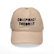 Conspiracy Baseball Baseball Cap
