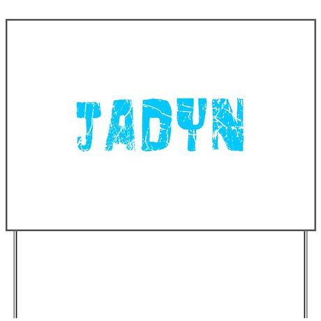 Jadyn Faded (Blue) Yard Sign