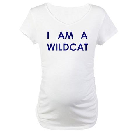 I Am A Wildcat Maternity T-Shirt