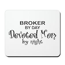 Broker Devoted Mom Mousepad