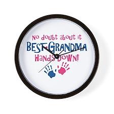 Hands Down Best Grandma Wall Clock