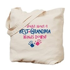 Hands Down Best Grandma Tote Bag