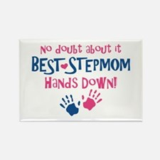 Hands Down Best Stepmom Rectangle Magnet