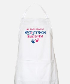 Hands Down Best Stepmom BBQ Apron