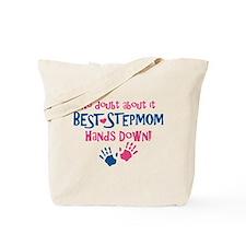 Hands Down Best Stepmom Tote Bag