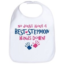 Hands Down Best Stepmom Bib