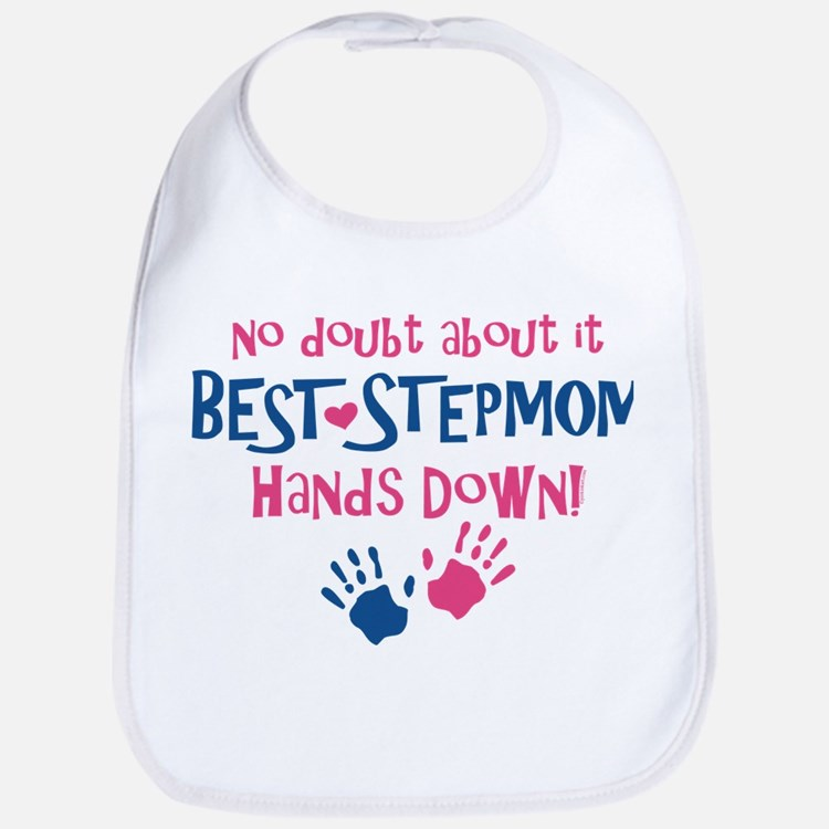 Hands Down Best Stepmom Bib