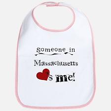 Massachusetts Loves Me Bib