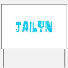 Jailyn Faded (Blue) Yard Sign