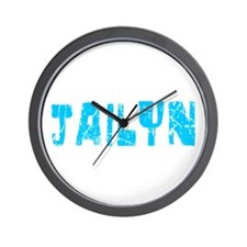 Jailyn Faded (Blue) Wall Clock