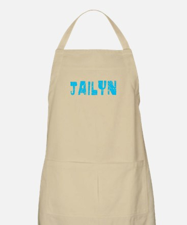 Jailyn Faded (Blue) BBQ Apron
