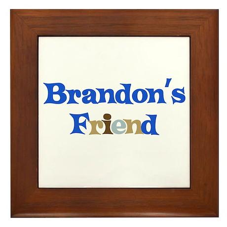 Brandon's Friend Framed Tile