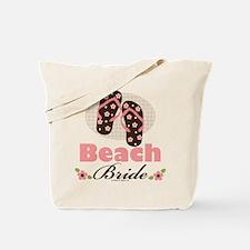 Beach Bride Wedding Tote Bag