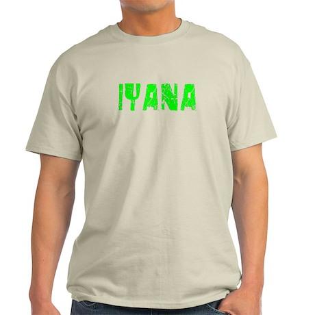 Iyana Faded (Green) Light T-Shirt