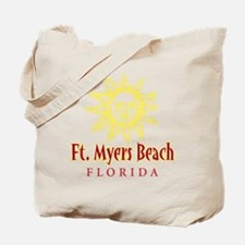 Ft. Myers Beach Sun - Tote or Beach Bag