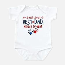 Hands Down Best Dad Infant Bodysuit