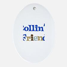 Collin's Friend Oval Ornament