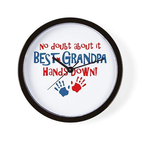 Hands Down Best Grandpa Wall Clock