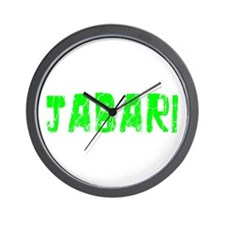 Jabari Faded (Green) Wall Clock