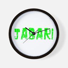 Jabari Faded (Green) Wall Clock