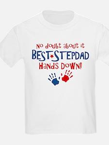 Hands Down Best Stepdad T-Shirt