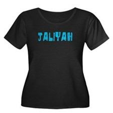 Jaliyah Faded (Blue) T